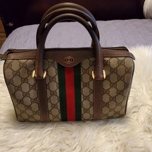 GUCCI BOSTON VINTAGE SHERRY DOCTOR